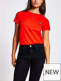 river-island-turnback-button-t-shirt-red