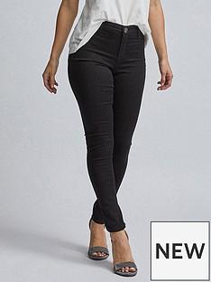 dorothy-perkins-petite-frankie-jeans--nbspblacknbsp