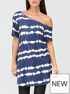 v-by-very-off-the-shoulder-tunic-tie-dye
