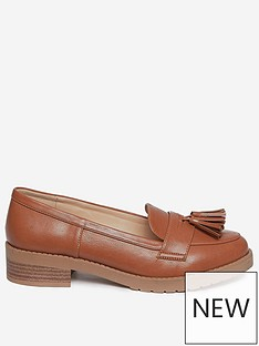 dorothy-perkins-litty-loafers-tan