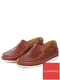 barbour-keel-boat-shoe-cognac