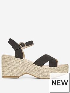 dorothy-perkins-platform-wedge-sandals-black