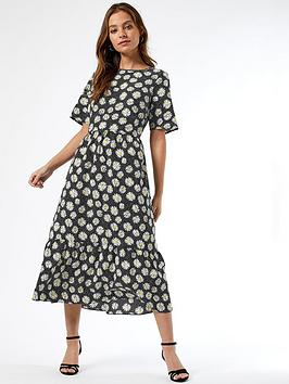 dorothy-perkins-daisy-spot-midi-dress-multi