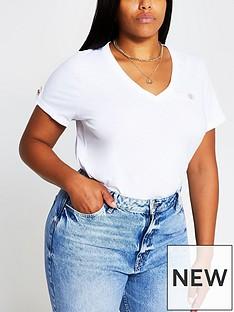 ri-plus-turnback-button-t-shirtnbsp--white