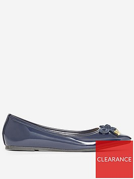 dorothy-perkins-wide-fit-peach-pumps-navy