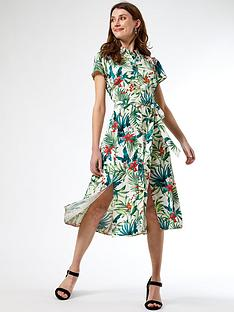 dorothy-perkins-stone-tropical-shirt-dress-multi