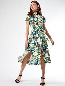 dorothy-perkins-stone-tropical-shirt-dress-multi