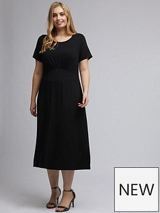 dorothy-perkins-curve-midi-dress--nbspblacknbsp