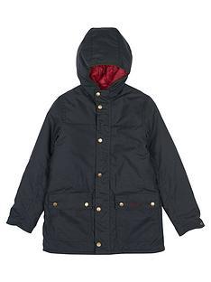 barbour-durham-hooded-wax-jacket-sage