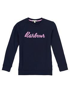 barbour-girls-otterburn-logo-sweat-navy
