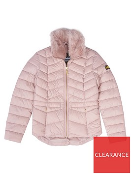 barbour-international-girls-halfbeck-faux-fur-quilt-jacket