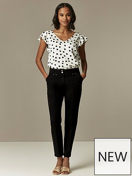 wallis-black-tapered-trouser