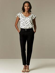 wallis-tapered-trousers-blacknbsp
