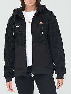 ellesse-heritage-avo-borg-jacket-black