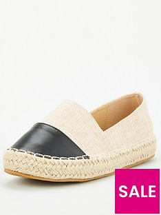 v-by-very-toe-cap-espadrille-natural