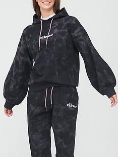 ellesse-heritage-fluo-oh-hoodie-black