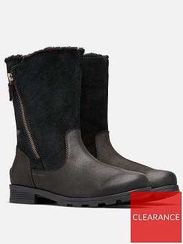 sorel-emilie-fold-over-leather-calf-boot-black