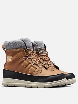 sorel-explorer-carnival-ankle-boot-brown