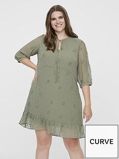 junarose-amana-printed-tea-dress-sage-green