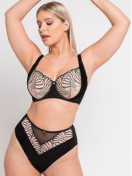 curvy-kate-scantilly-fallen-angel-high-waist-briefs-black