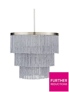 michelle-keegan-home-tulsa-fringe-easy-fit-lightshade-ndash-satin-grey-nickel