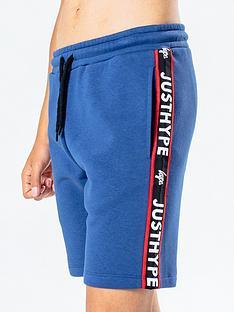 hype-taped-jog-shorts-bluenbsp