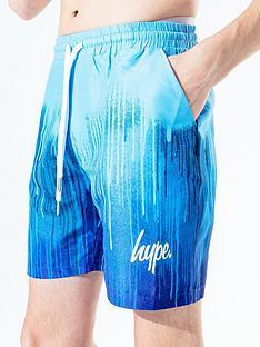 hype-drip-print-jog-shorts-bluenbsp