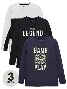 v-by-very-boys-3-pack-gaming-long-sleeve-t-shirts-blackgrey