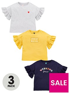 v-by-very-girls-3-pack-slogan-frill-t-shirts-multi