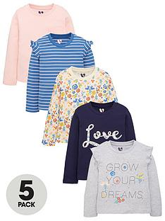 mini-v-by-very-girls-5-pack-core-long-sleeve-tops-multi