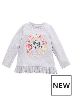 mini-v-by-very-girlsnbspbig-sister-long-sleeve-top-grey