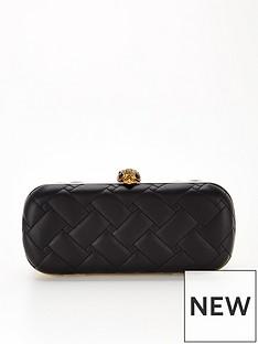 kurt-geiger-london-kensington-oval-clutch-bag-black