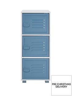 lloyd-pascal-edison-metal-lockernbsp3-drawer-cabinet--nbspblue