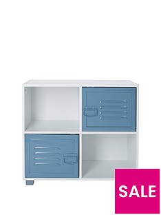 lloyd-pascal-edison-metal-lockernbsp4-cube-storagenbsp-nbspblue