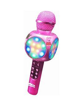 peppa-pig-peppa-pig-bluetooth-karaoke-microphone-with-led-lights