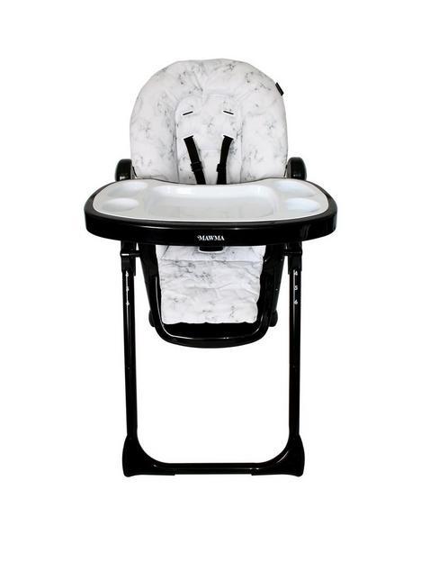 nicole-snooki-polizzi-mawma-marble-premium-highchair
