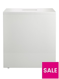 lloyd-pascal-luna-slimline-storage-unit--white