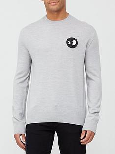 mcq-alexander-mcqueen-monster-badge-sweatshirt-grey