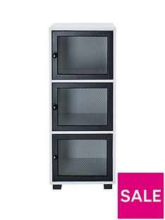 lloyd-pascal-toby-locker-stylenbsp3-door-cabinet