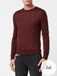 allsaints-mode-merino-knitted-jumper-burgundy