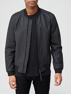 allsaints-ivor-leather-bomber-jacket-black