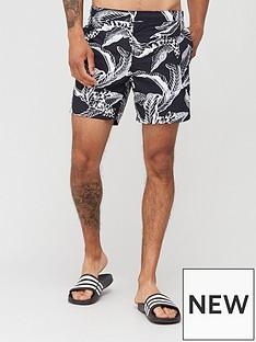 allsaints-kahuna-mono-print-swim-shorts-jet-black