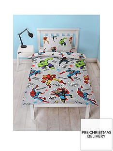 marvel-comics-comics-single-duvet-cover-set