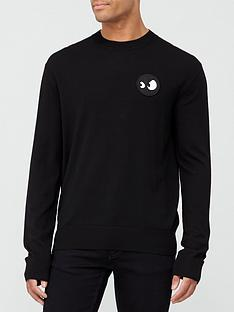 mcq-alexander-mcqueen-monster-badge-sweatshirt-black