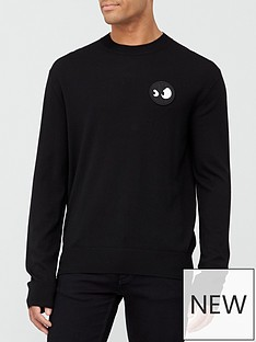 mcq-alexander-mcqueen-monster-badge-sweatshirt-black