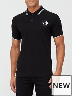 mcq-alexander-mcqueen-monster-badge-pique-polo-shirt-black