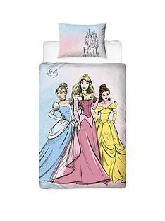 disney-princess-pastels-single-duvet-cover-set