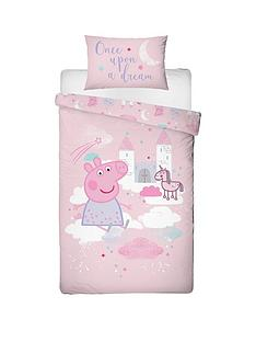 peppa-pig-stardust-single-duvet-covernbspset