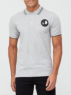 mcq-alexander-mcqueen-monster-badge-pique-polo-shirt-grey