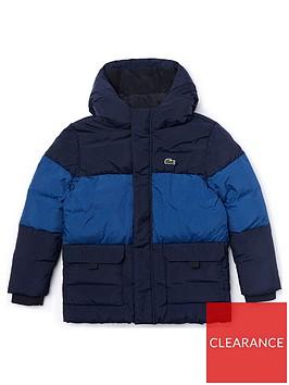 lacoste-boys-colourblock-padded-coat-navy